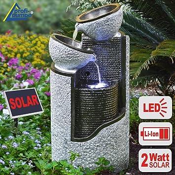 Arnusa fontaine de jardin solaire pompe de fontaine solaire deko ...