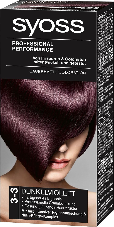 Syoss Color 3-3 morado oscuro nivel 3