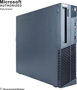 Lenovo ThinkCentre M78 Small Form Factor PC, AMD Quad Core A10-6700 up to 4.3GHz, 16G DDR3, 1T, WiFi, Bluetooth 4.0, DVD, Windows 10 64-Multi-Language Support English/Spanish/French (Renewed)