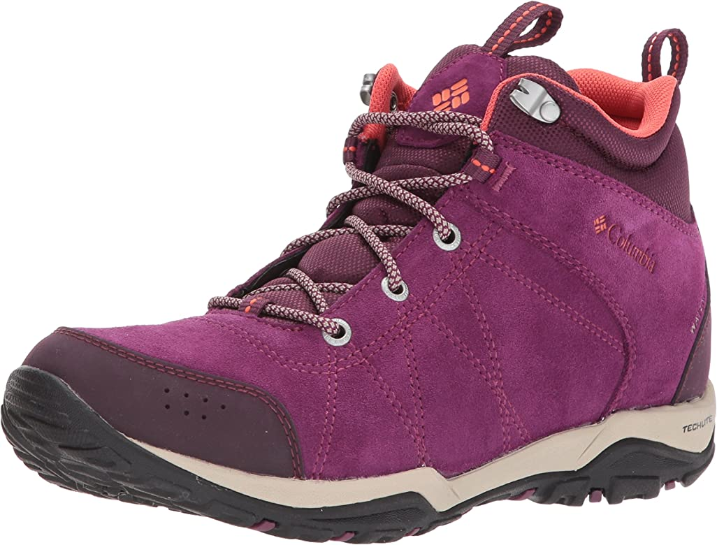 Columbia Fire Venture Mid Waterproof Leather, Zapatillas De Deporte para Exterior para Mujer: Amazon.es: Zapatos y complementos
