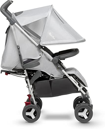 Silver Cross Reflex Stroller, Compact and Lightweight Pushchair – Platinum