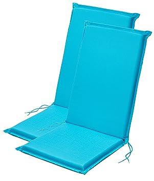 Traumnacht - Cojines para Silla de Respaldo Alto, Color Azul ...