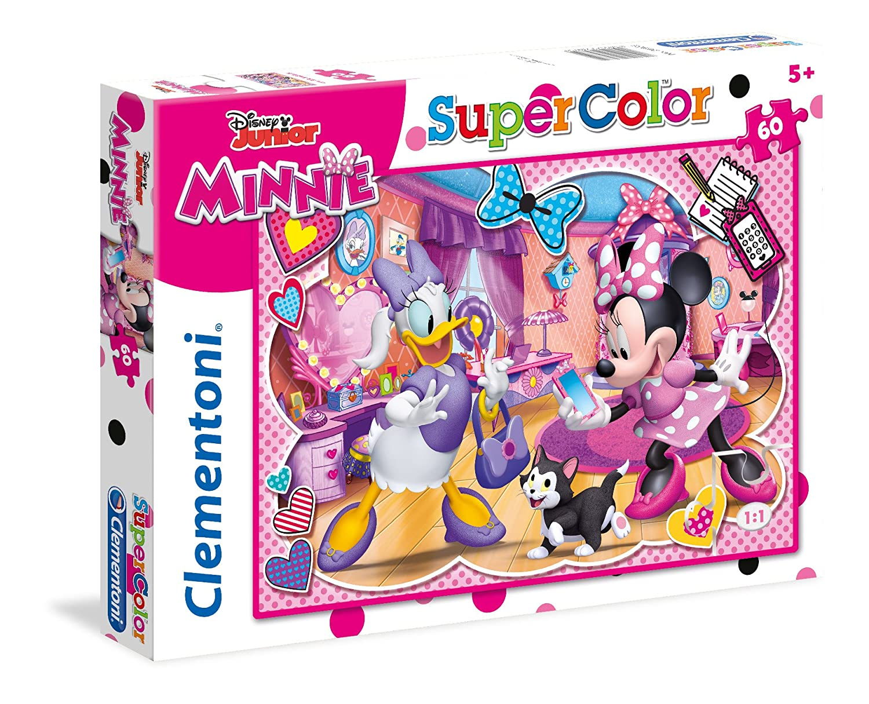 Clementoni - 26975 - Supercolor Puzzle - Minnie - 60 Piè ces - Disney
