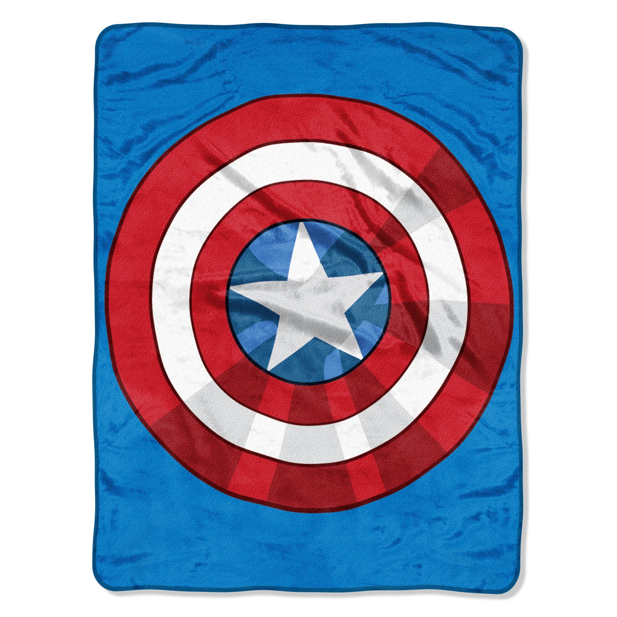 The Avengers, ''The Shield'' Micro Raschel Throw Blanket, 46'' x 60''
