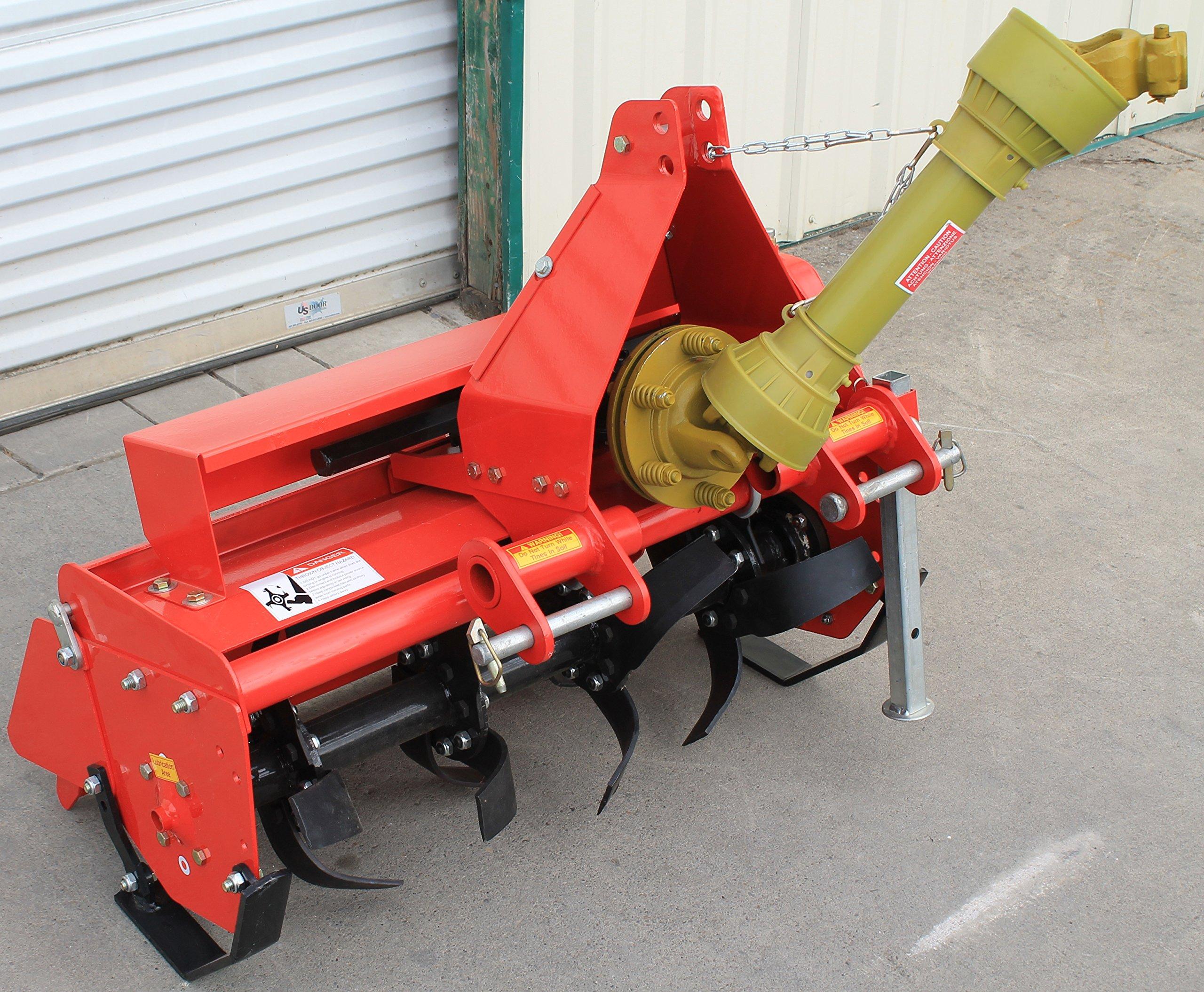 Value Leader 33'' Tiller Cat.I 3pt 14+hp (FH-TL85) ~Adjustable Offset & SlipClutch Driveline by Farmer-Helper (Image #5)
