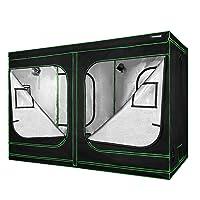 VIVOSUN 96``x48``x80`` Mylar Hydroponic Grow Tent