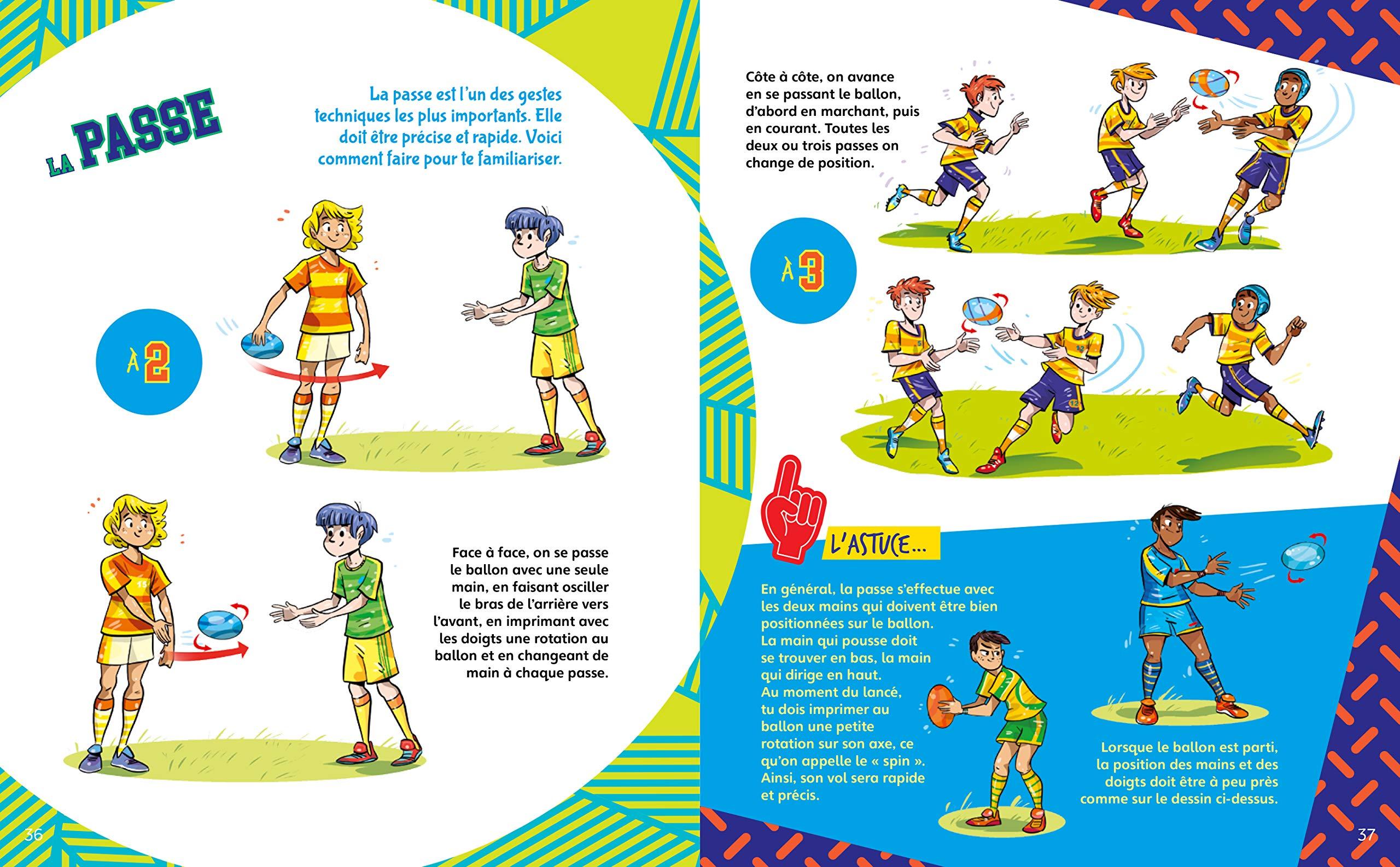 Le Rugby Raconte Aux Enfants Petit Guide Illustre Sport
