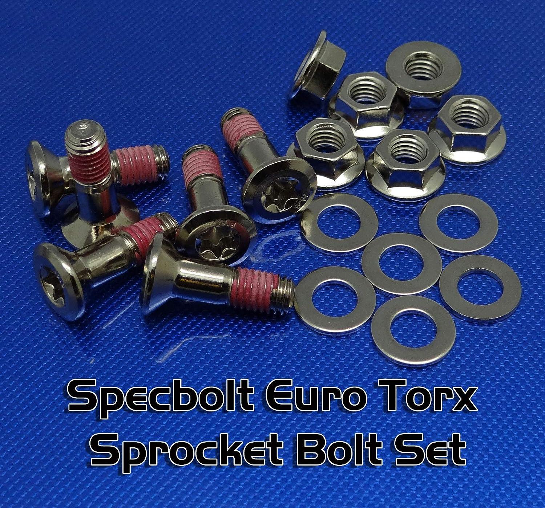 Nickel Wurks Specbolt Fasteners Brand Torx Sprocket bolt that fits EURO KTM HUSQVARNA motorcycles