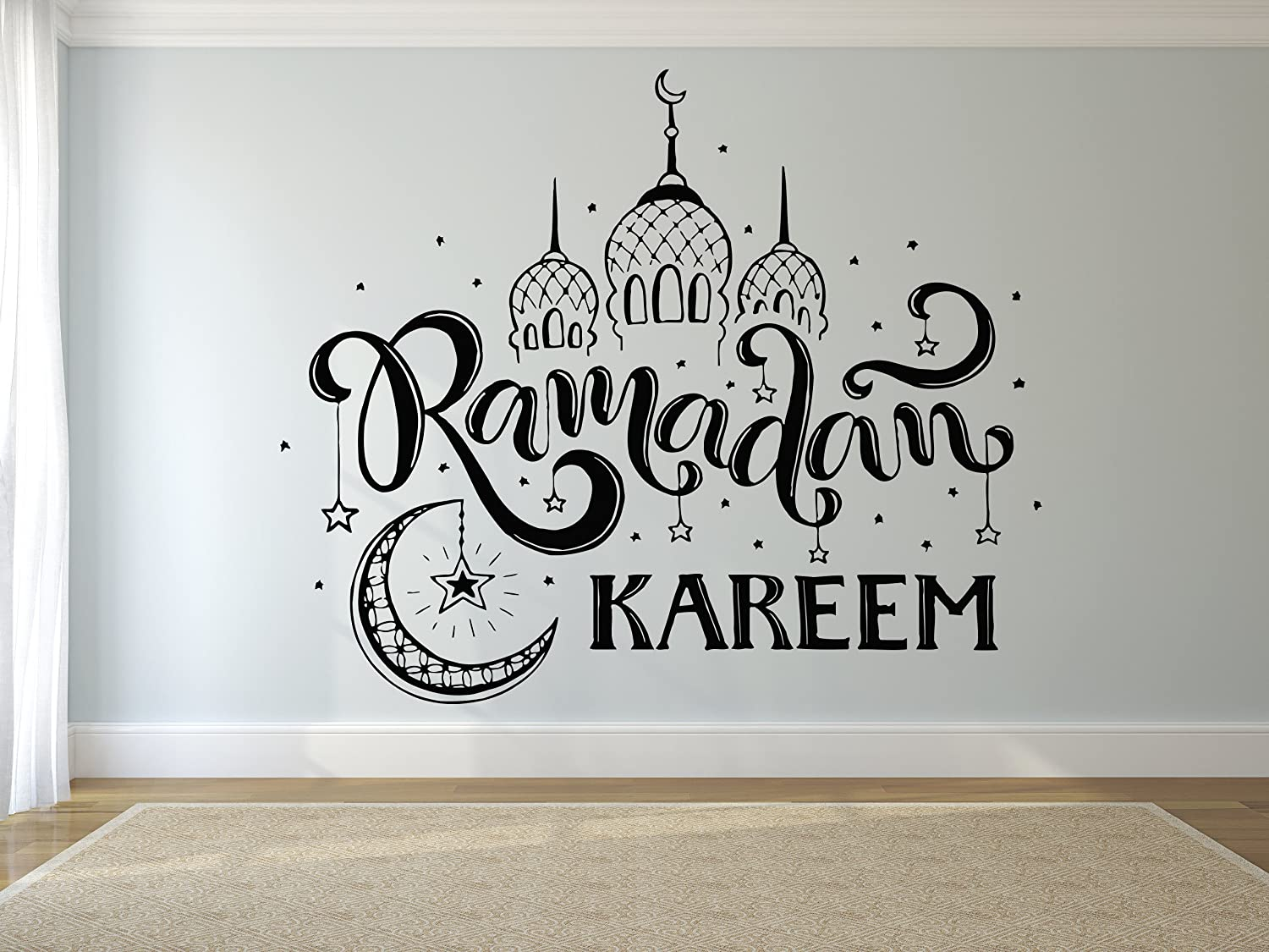 Amazoncom Wall Decal Sticker Muslin Decal Quote