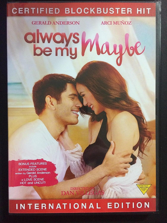 Amazon Com Always Be My Maybe Filipino Dvd Gerald Anderson Arci Munoz Dan Villegas Movies Tv