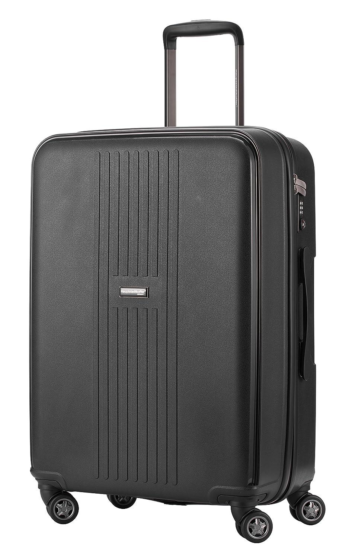 HAUPTSTADTKOFFER - Fヘイン - ハードスーツケース、サイズ65 cm、71リットル、ブラックカラー B00UHNC3R8