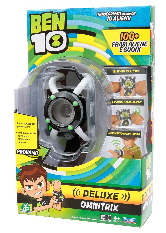 Giochi Preziosi, Ben 10 Orologio Omnitrix Deluxe, BEN05204 Amazon.it  Giochi e giocattoli