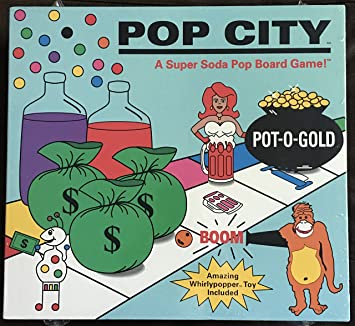Bloomco Pop City-A Super Soda Pop Juego de Mesa: Amazon.es ...
