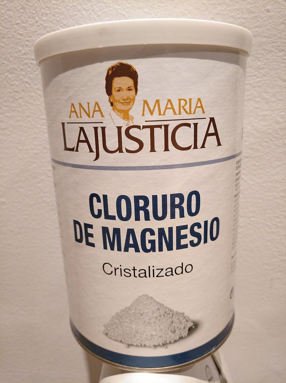 Cloruro Magnesio 400 gr de Ana Maria Lajusticia: Amazon.es: Salud y cuidado personal