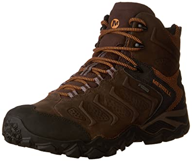 Merrell Mens Chameleon Shift Mid Waterproof Hiking Boot Bitter Root