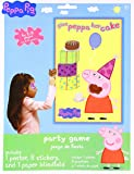 Birthday Party Game Activity, 3 Pieces, Made from Paper, Peppa Pig, by Amscan