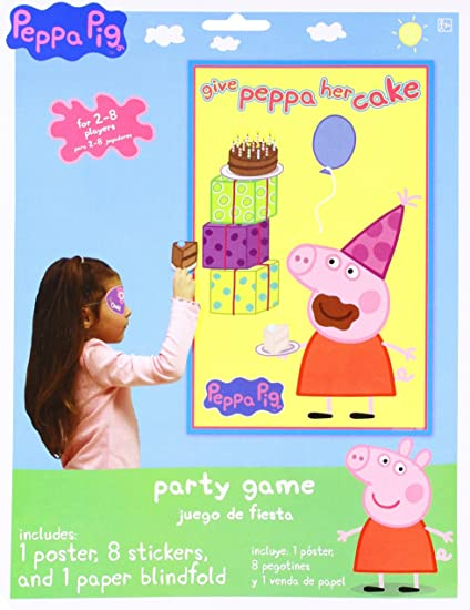 Amazon.com: Birthday Party Game Activity, 3 Pieces, Made from Paper ...