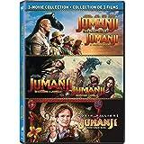 Jumanji (1995) / Jumanji: The Next Level / Jumanji: Welcome to the Jungle - Set (Bilingual)