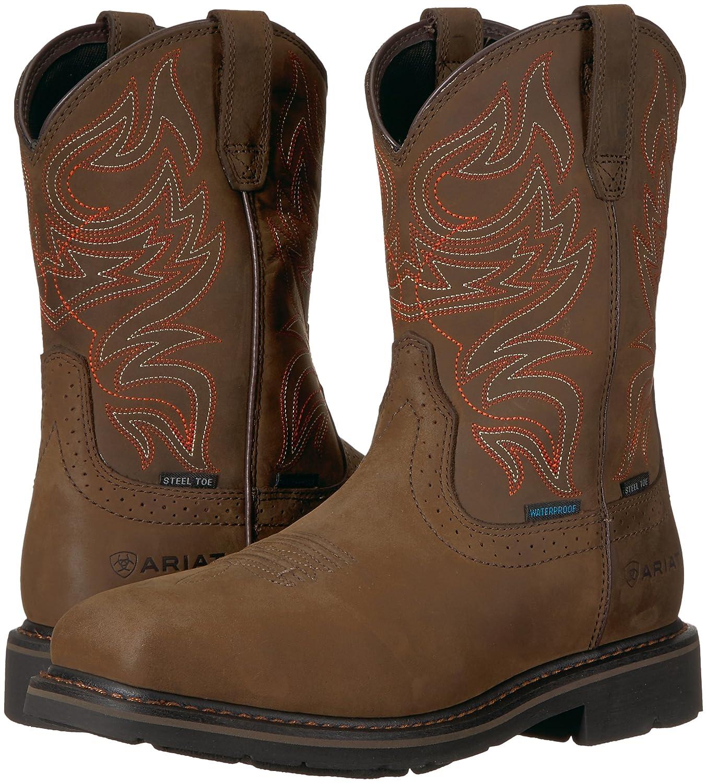 Ariat Work メンズ Sierra Delta H2o Steel Toe B076rrzznh 8 5 E