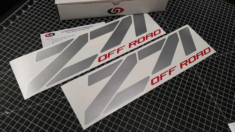 Z71 Off Road Vinyl Decals Stickers Chevy Silverado