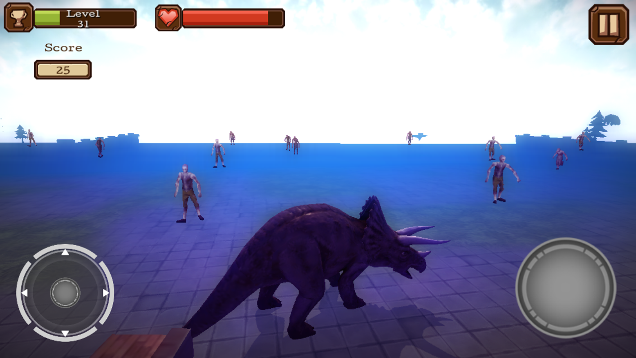 amazon com triceratops 3d dinosaur simulator appstore for android