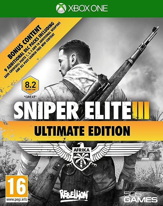 Sniper Elite 3 - Ultimate Edition [Importación Inglesa]: Amazon.es ...