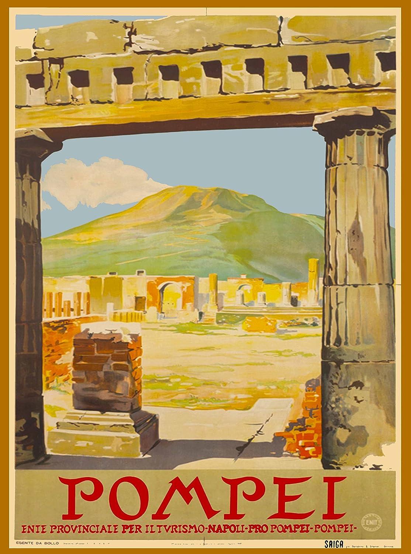 Amazon com: A SLICE IN TIME Pompei Campania Region Mt