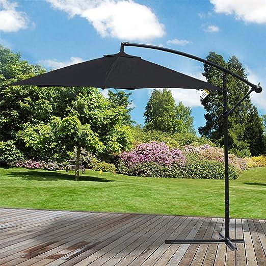 Sombrilla de jardín, parasol para patio de Marko Outdoor, 3 m de pie: Amazon.es: Jardín