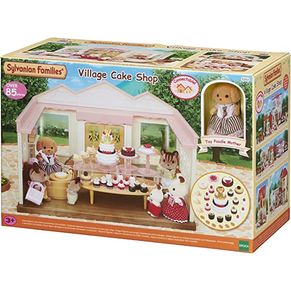 Sylvanian Families Calico Critters Pastry Tarts /& Display Stand