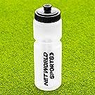 Water Bottle [750ml] - BPA Free Plastic - Semi Transparent Sports Water Bottle