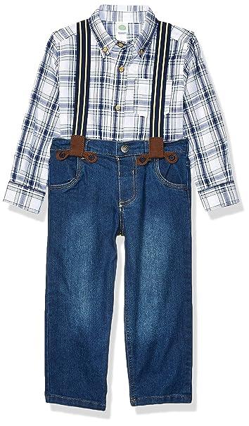 Little Me Boys Toddler Woven Pant Sets