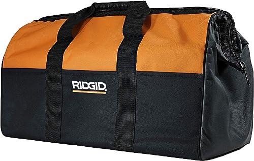 Ridgid Genuine OEM Canvas Power Tool Contractor s Bag 22 x 11 x 10 Renewed