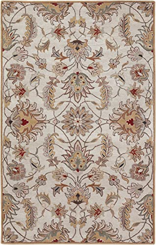Surya CAE-1029 Caesar Gold 9-Feet by 12-Feet Area Rug