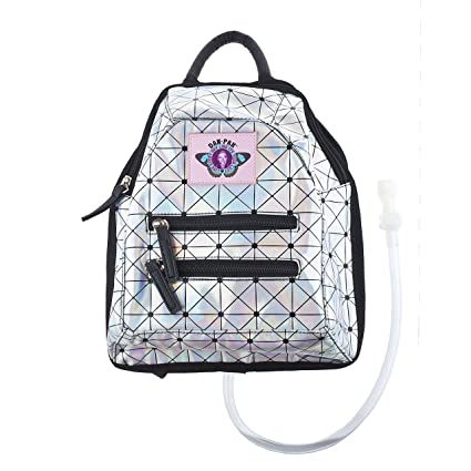 35bb7f4a8c9 Amazon.com  Dan-Pak Mini Backpack Hydration Pack -Holographic Disco ...