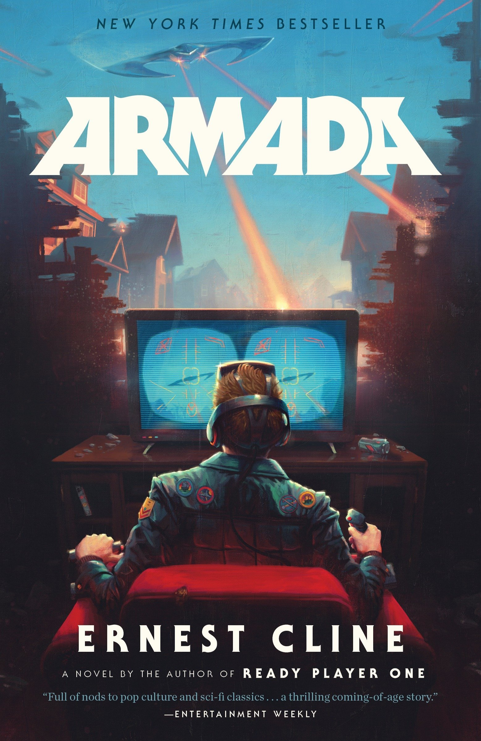Amazon.com: Armada: A novel by the author of Ready Player One  (9780804137270): Ernest Cline: Books