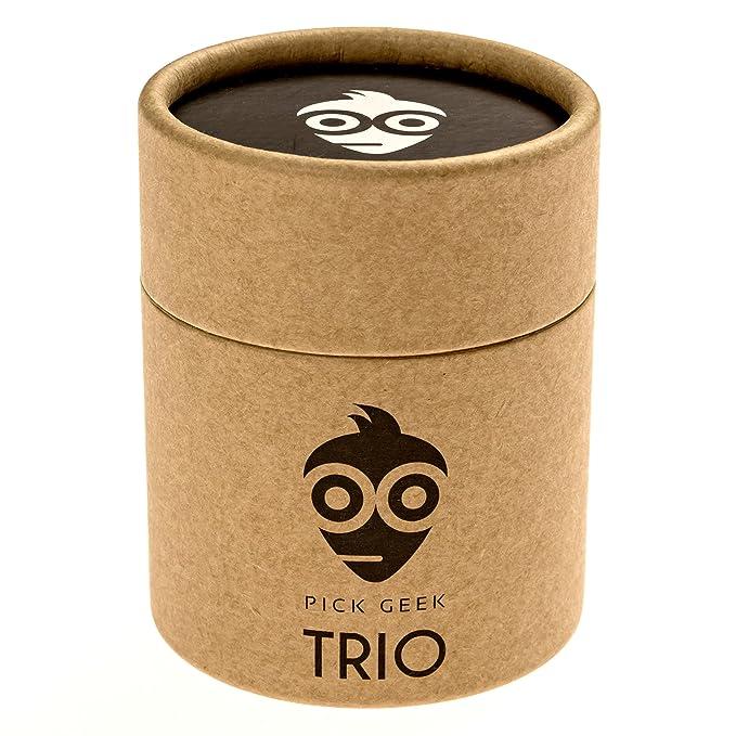 36 opinioni per Pick Geek TRIO- 3 Set di Fantastiche Plettri per la Chitarra Elettrica,