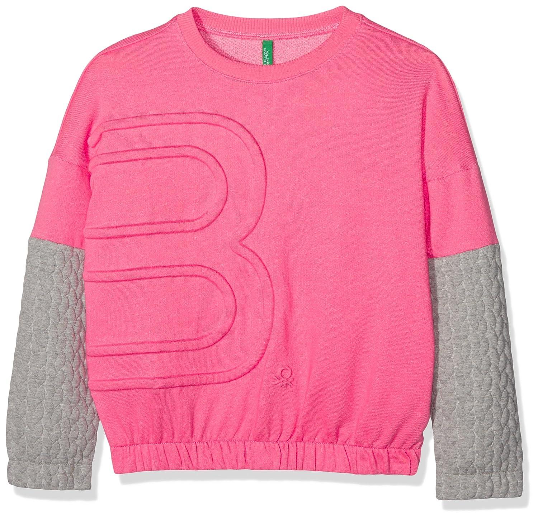 United Colors of Benetton Sweater L/S, Felpa Bambina 3EE4C13AU