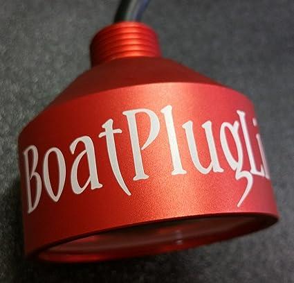 Amazon.com : Vega Underwater RED 8000 lumens 133 watts transom Drain Plug LED Light and built in Texas : Sports & Outdoors