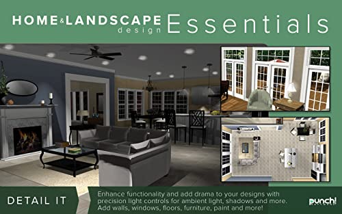 Punch Home Landscape Design Essentials V19 Home Design Software For Windows Pc Download