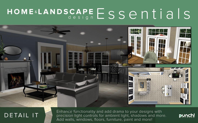 Punch home landscape design essentials v19 for windows for Punch home garden design collection
