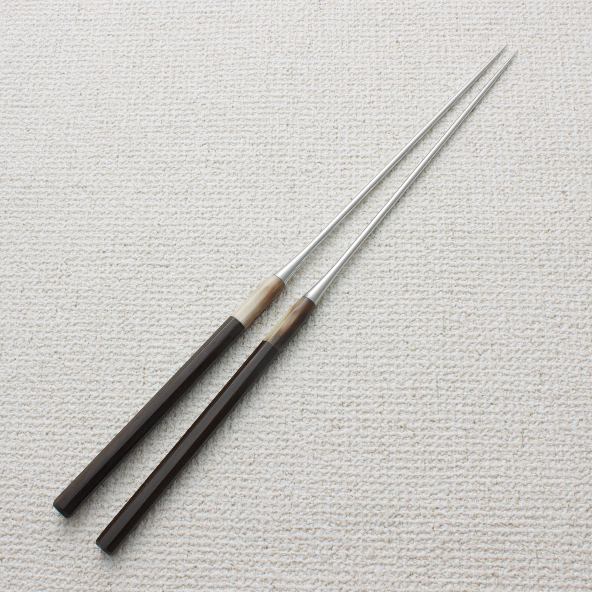 Plating Chopsticks (Moribashi) Ebony 180mm (7.1'')
