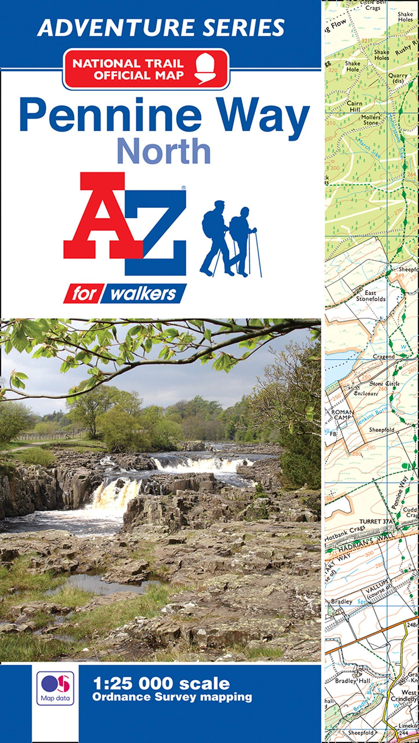 Pennine Way Adventure Atlas  Adventure Atlases