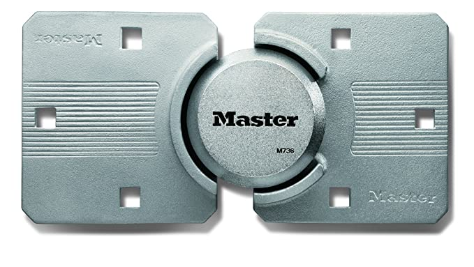 Master Lock Padlock, Magnum Hidden Shackle Lock and Hasp, M736XKAD