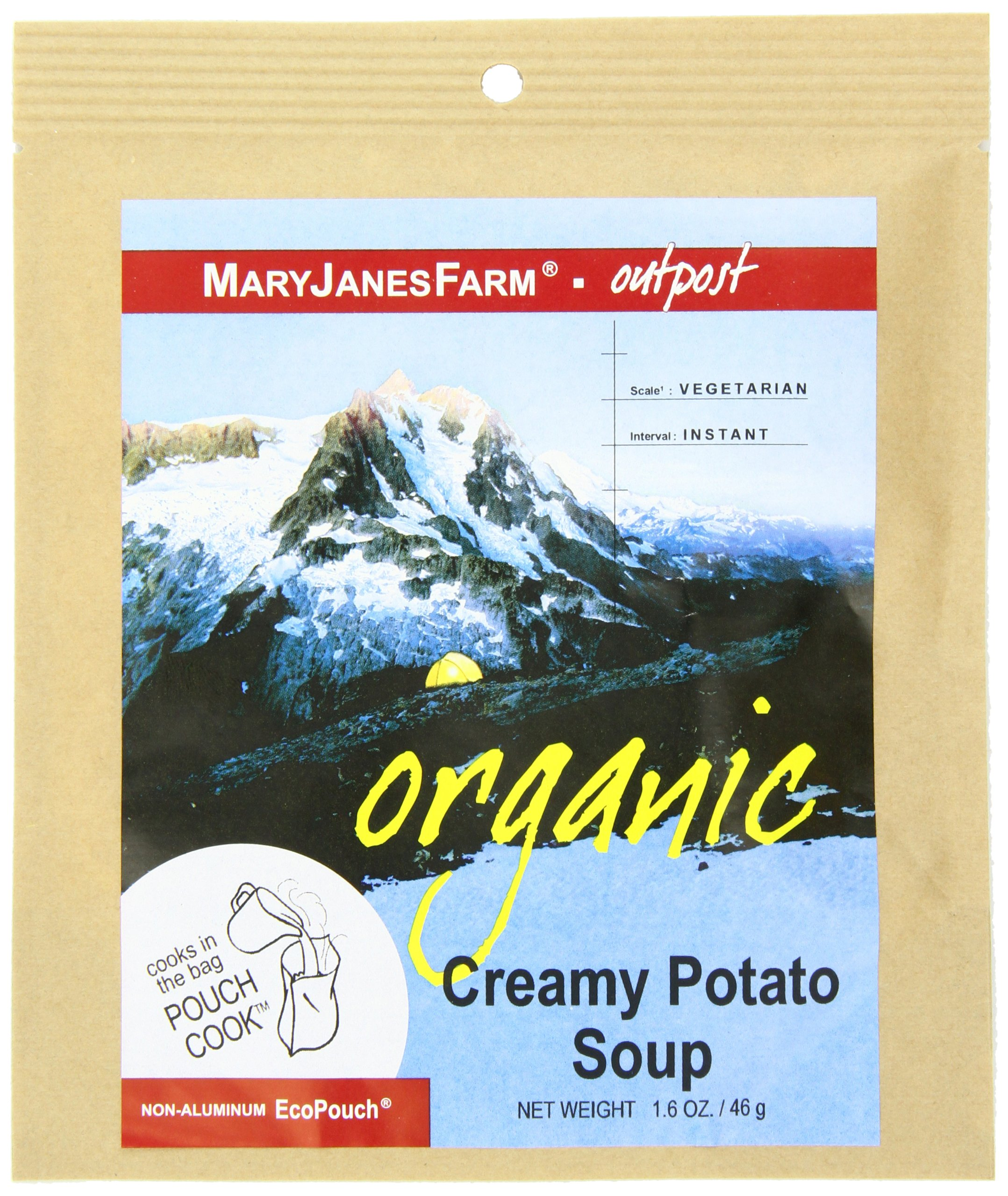 MaryJanesFarm Creamy Potato Soup, 1.6 Ounce Bags by Mary Janes Farm