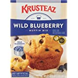 Krusteaz Wild Blueberry Muffin Mix, 17.1-Ounces