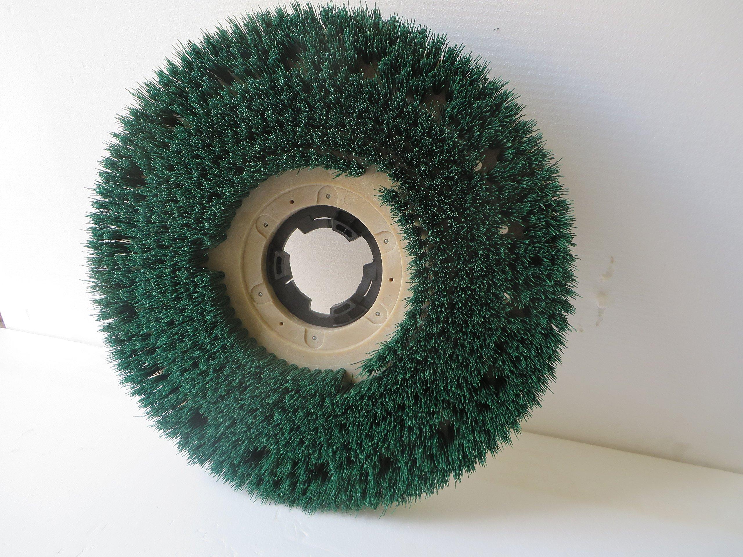 17'' Machine New Scrub Grit brush w/plate 15GX92