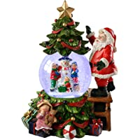 WeRChristmas Decoración navideña Musical Papá Noel, árbol