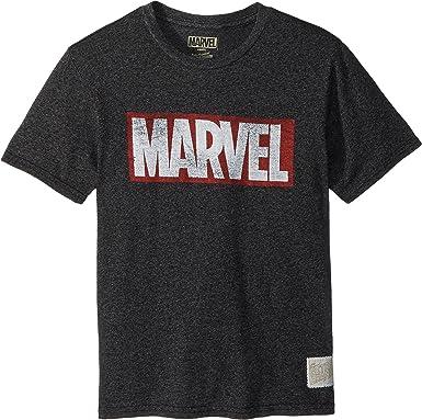 194b7991b The Original Retro Brand Kids Boy's Marvel Short Sleeve Mock Twist Tee (Big  Kids)