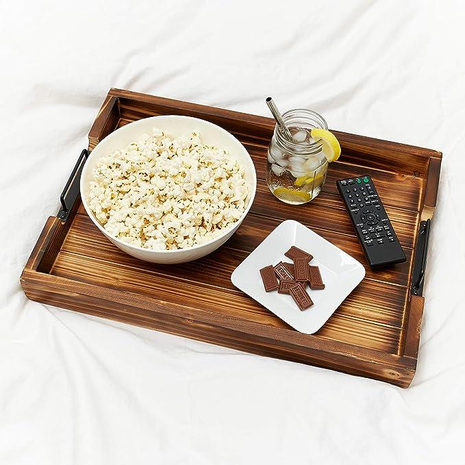 Plateaux rectangulaires//carr/és servant des assiettes /à pain pour plat de salade de fruits l/égumes l/égumes Repas Cocktail Vin Caf/é 18 * 18 * 2 cm Plateau de service en rotin
