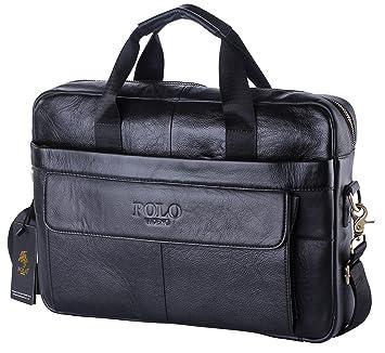 705b66c40f81 POLO VIDENG reg  M278 Men  39 s Classic Top Cow Genuine Leather Business  Handbag